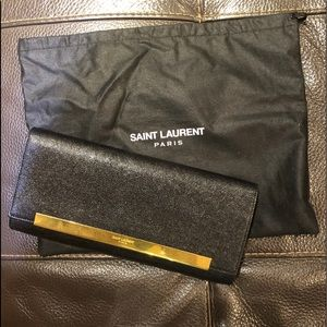 Vintage Saint Laurent Paris clutch